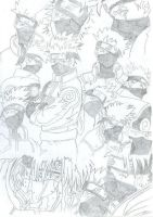 Kakashi collage by LisaFeary