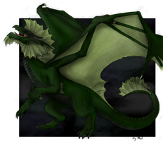 Green Dragon II a.k.a. Bayard by xXDarkCatXx