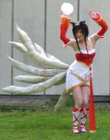 Ahri cosplay by O3OH