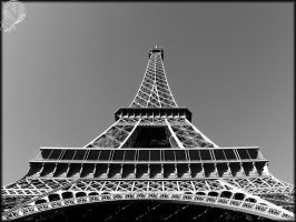 The Eiffel Tower by VeIra-girl