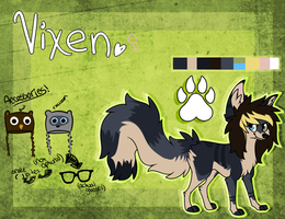 Vixen :Reference Sheet: by DubstepDawg