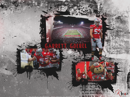Garrett Goebel Wallpaper by KevinsGraphics