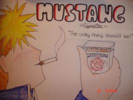 Mustang Cigarettes by HaVoCsMaSh