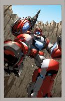 Spotlight Cliffjumper DF cover by dyemooch