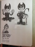 BENDY AND THE INK MACHINE! by Pinkie-girl