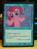 Counterspell - Pinkie Pie by yawgmotth
