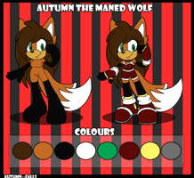 Reference - Autumn the Maned Wolf by Autumn--Falls