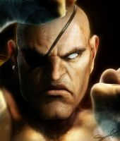 Real Sagat by cazetta