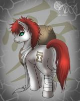Gaara pony XP by dream-whizper