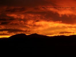 Fire Clouds by AngelShadowRena