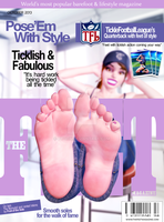 TheFeetMagazine Cover October by CToon
