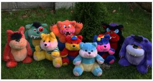 Werebears  and Terror teds Teddies by WireBear