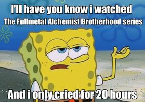 First Time Watching The FMA Brotherhood Series by AlphaMoxley95