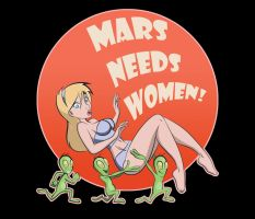 Mars Needs Women! by mackie85
