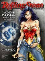 Wonder Woman Rolling Stone by jamietyndall