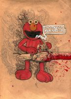 Elmo by aaRon-hart