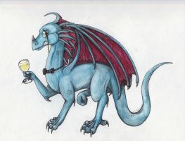 :: Blu Dragon :: by LaughingSquid