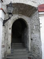 Estonian Stone Stairwell by racehorse87-stock