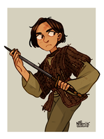 Game of Thrones: Arya by NatashaFenik