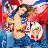 Png pack #61 Nina Agdal by blondeDS