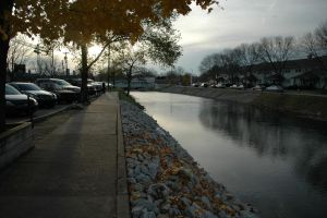 Broad Ripple and the canal by StarryEyedDayDreamer