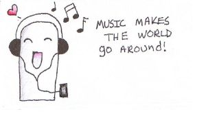 yay for music colored by bluekerbe