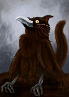 Speedpaint Challenge: Cat/Crow Hybrid by A-Pancake