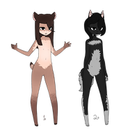 Adopts!~ Anthro Closed!~ by DiscoCake