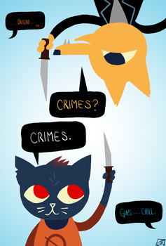 Maybe Crimes Will Be Our Always... by JRisSparks