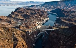 Hoover Dam by maximira