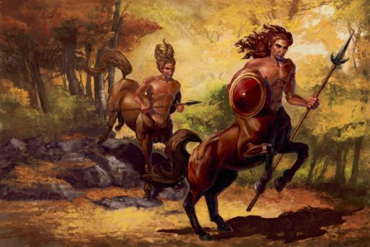 Centaurs by thegryph