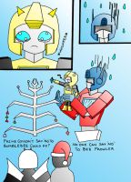 Bumblebee wants Christmas by MirrorOfSin