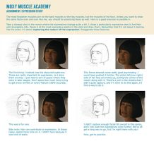 Assignment: Expression Study by MoxyDoxy