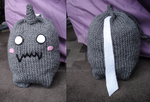 Knit Alphonse Drawstring Bag by Elmira-san