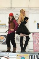 Elaine and Misa by MiracoliCosplay
