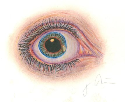 Eye Study #1 by KimMantis