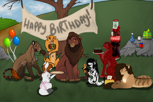 Happy Birthday Kovu~ by Swallowz