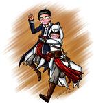 Altair and Malik by YukiMiyasawa