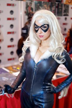 Black Cat By Riddle Fan Expo 2015 #04 by Lightning--Baron