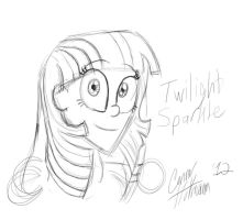 Humanized Twilight Sparkle by Ceehoff