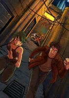 Run with us by Hedrick-cs by Jg21me
