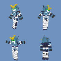Minecraft skin - Gundam Heavyarms Custom by bryanz09