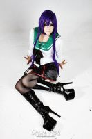 Saeko Busujima Cosplay by Nao-Dignity