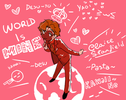 The World Belongs to Claire Stanfield by teh-muffin-thing