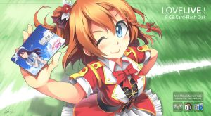 Honoka Kousaka by mysticswordsman21