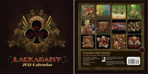 Lackadaisy 2012 Calendar by Team4D