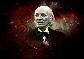 Doctor Who - First Doctor - William Hartnell by Skrillexia-TF