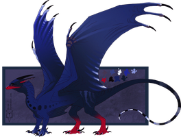 Taiwan_blue_magpie DESIGN for sale! $$$ !CLOSED! by ulven-f