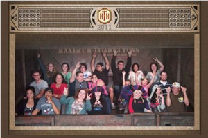 Frollo hats on Tower of Terror by ChristineFrollophile