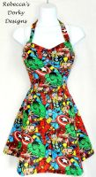 Marvel dress by imaxxstarfish